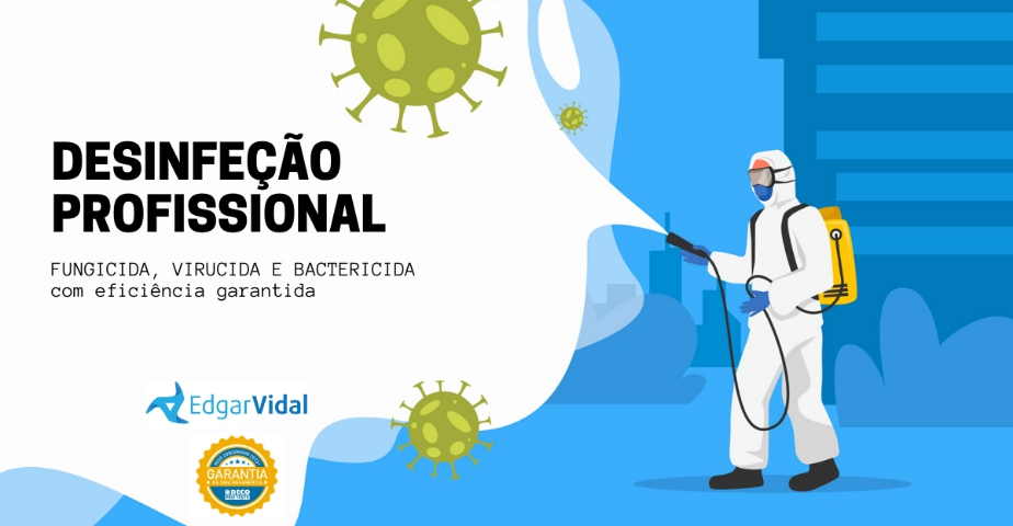 Edgar Vidal - Desinfeção Profissional