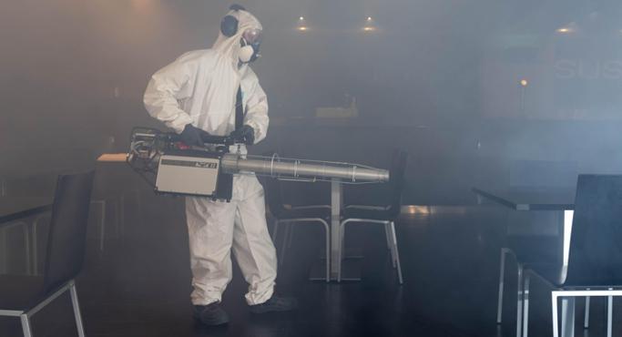Desinfeção COVID-19